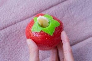 Orbee tuff strawberry gevuld met banaan